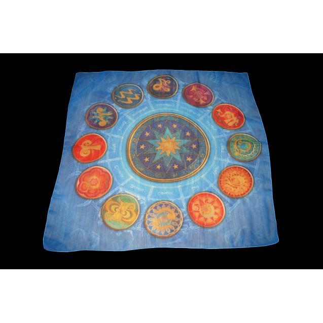 12 Csillagjegy 70x70 cm-es muszlin kendő