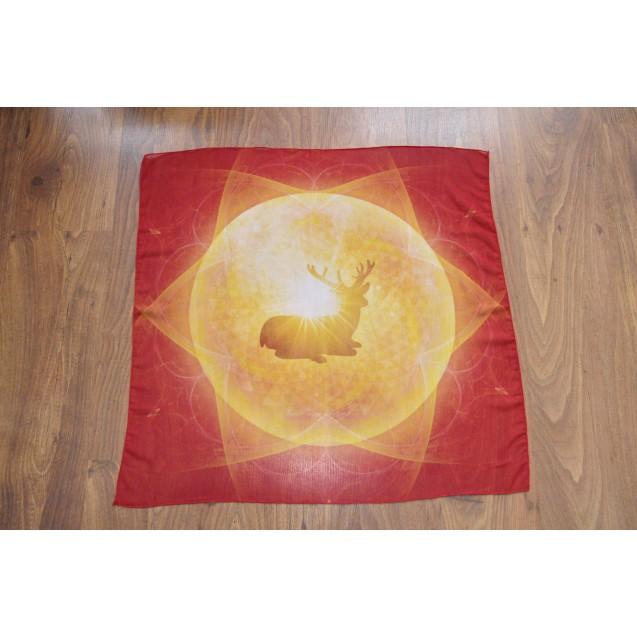 Csodaszarvas 70x70 cm-es muszlin kendő