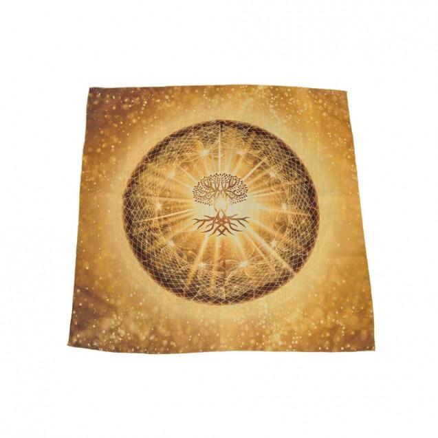 Életfa 70x70 cm-es muszlin kendő