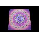 Életvirág Mandala 70x70 cm-es muszlin kendő