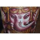 Ganesha - Barna jógamatrac tartó