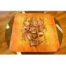 Ganesha - Barna terítő