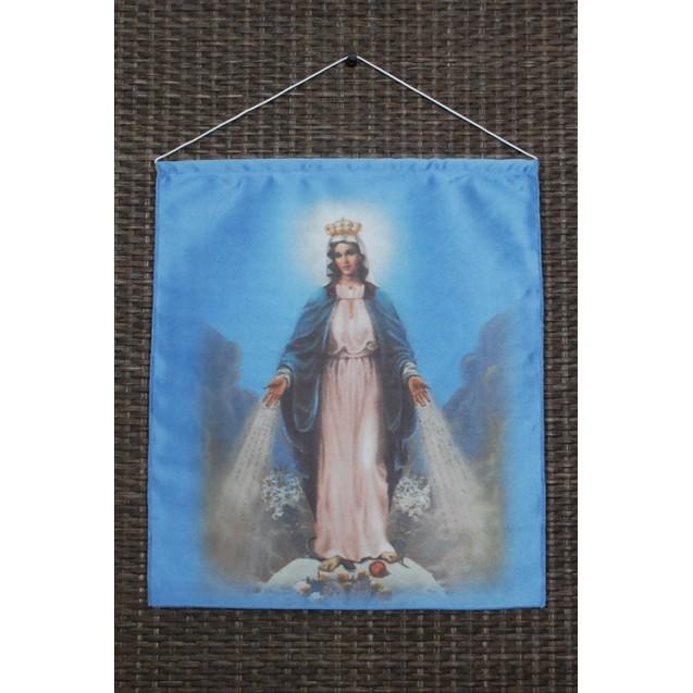 Szűz Mária - Világok Királynője kicsi akasztós kép