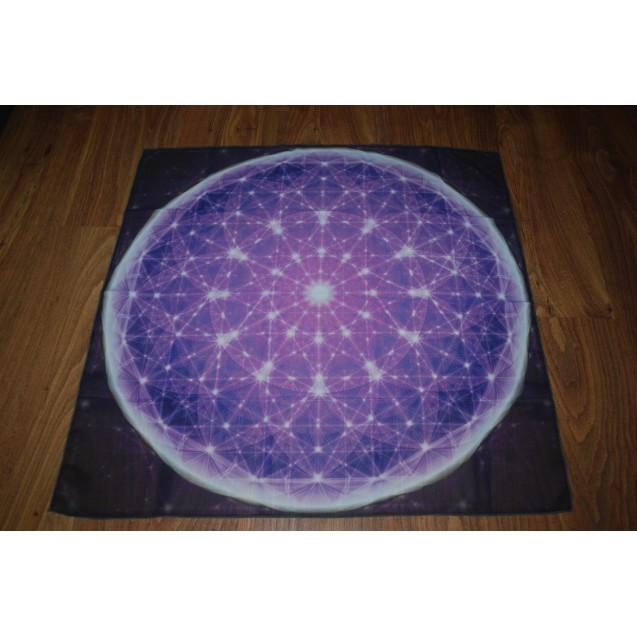 Szeretet Mandala 70x70 cm-es muszlin kendő