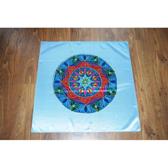 Teljesség Mandala - Kék terítő