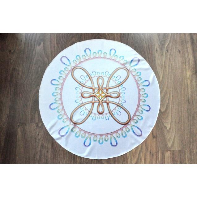 Szeretet Egysége kör alakú terítő